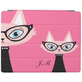 Chic vintagekattiPad 2/3/4 täcker - rosor iPad Skydd
