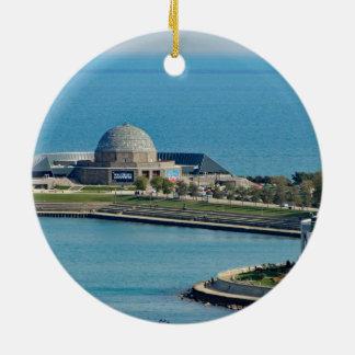 Chicago Adler Planetarium Julgransprydnad Keramik