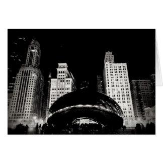 Chicago böna hälsningskort