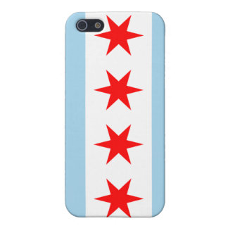 Chicago flagga iPhone 5 cases