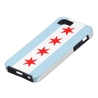 Chicago flagga tough iPhone 5 fodral