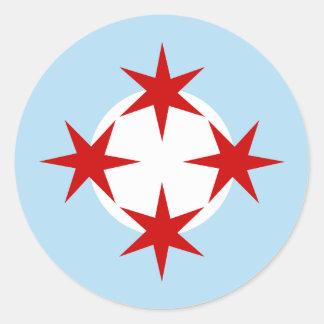 Chicago flygvapen (bombardera vingen), Roundel Runt Klistermärke