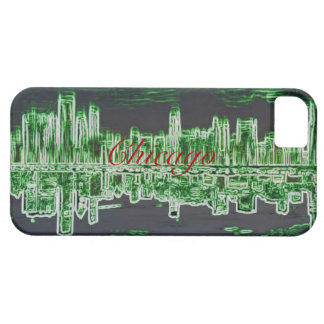Chicago horisontfodral iPhone 5 cover