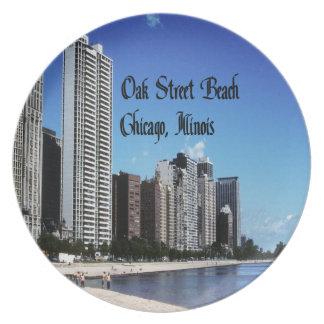 Chicago Illinois Tallrik