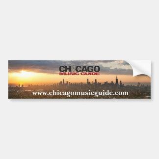 Chicago musik vägleder bildekal