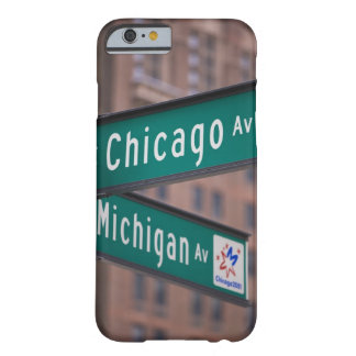 Chicago och Michigan avenysignposts, Chicago, Barely There iPhone 6 Fodral