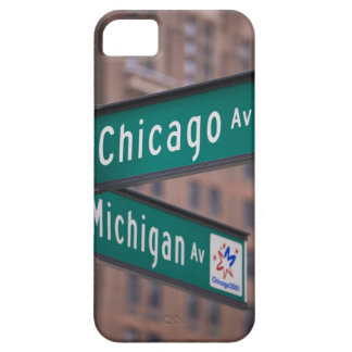 Chicago och Michigan avenysignposts, Chicago, iPhone 5 Fodraler