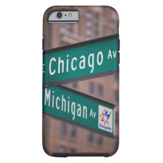 Chicago och Michigan avenysignposts, Chicago, Tough iPhone 6 Case