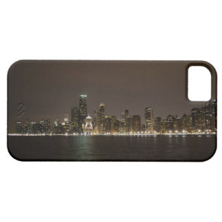 Chicago på natten iPhone 5 fodraler