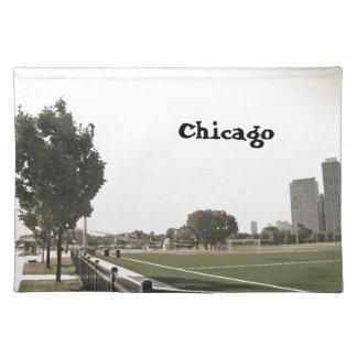 Chicago parkerar Sepia tonar Bordstablett