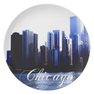 Chicago pläterar tallrik
