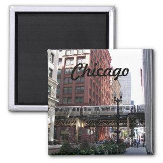 Chicago reser fotoet magnet