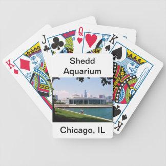 Chicago Shedd akvariumsamling Spelkort
