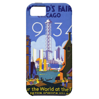 Chicago världs mässa 1934 iPhone 5 Case-Mate cases