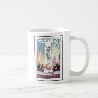 Chicago världs mugg 1933 för kaffe för mässa