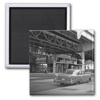 Chicago Wabash aveny Hardings 1964 Lyon Healy Magnet
