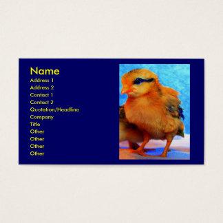 Chick-En-Dee-Ljus I-visitkort Visitkort