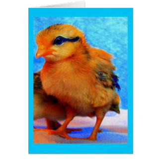 Chick-En-Dee-Ljus påsk Hälsningskort