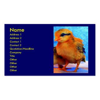 Chick-En-Dee-Ljus visitkort