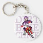 Chick Keychain för cykel för Animeflickasmuts Nyckelring