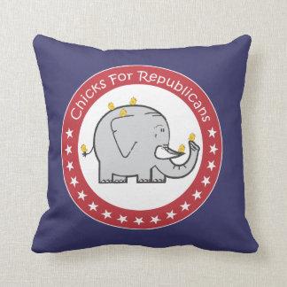 chickar för republikaner kudder kudde