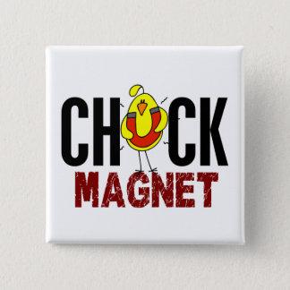 Chickmagnet Standard Kanpp Fyrkantig 5.1 Cm