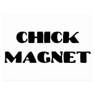Chickmagnet Vykort