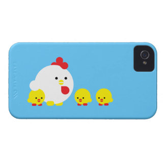 Chick'n-chickar iPhone 4 Cover