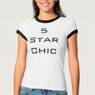 chict-skjorta för 5 stjärna t-shirts