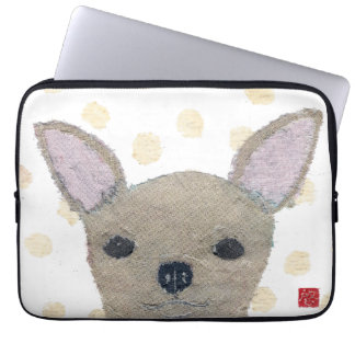 Chihuahua solbränd Chihuahua Laptop Sleeve