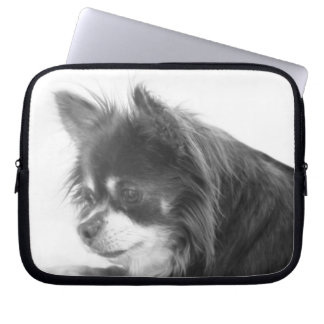 Chihuahuahundporträtt Laptop Sleeve