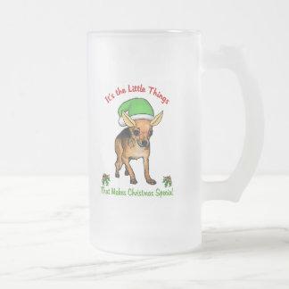 Chihuahuajulgåvor Frostat Ölglas