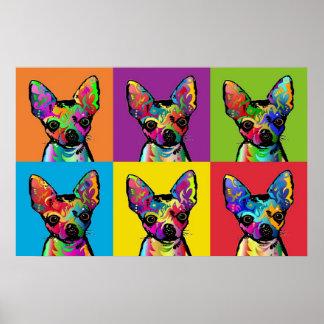 Chihuahuakonst Affischer