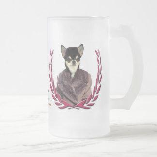 ChihuahuamuggNobility förföljer gåvan Frostat Ölglas