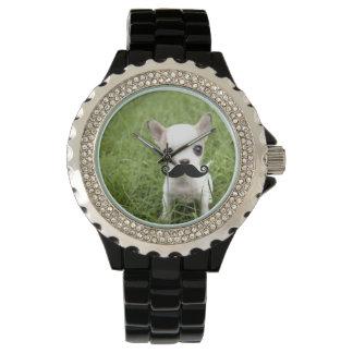 Chihuahuamustasch Armbandsur
