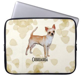 Chihuahuasolbrännan lämnar Motiff Laptop Sleeve