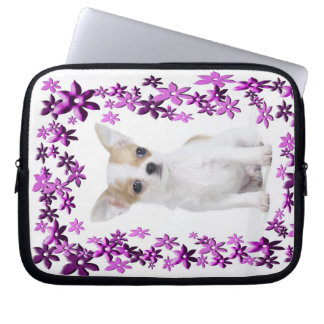 Chihuahuavalp Laptop Fodral