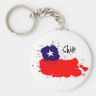 Chile artsy keychain rund nyckelring