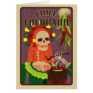 chile colorado OBS kort