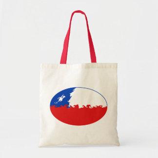 Chile hänger lös den Gnarly flagga Tote Bag
