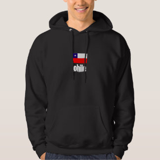 Chile hooded svettskjorta munkjacka