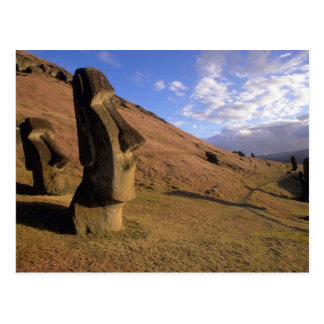 Chile påskö. Back med Moai Vykort