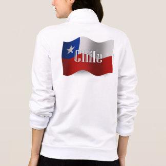 Chile som vinkar flagga jackor