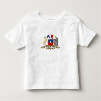 Chilensk vapensköld tee shirt