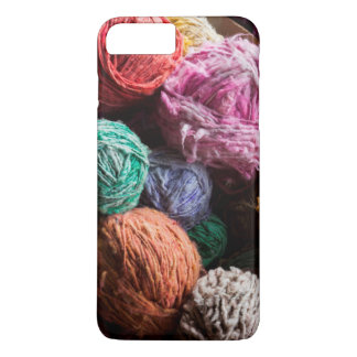 Chiloe ullgarn som färgas med naturliga färger
