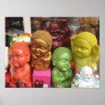 Chinatown Buddhas Affisch