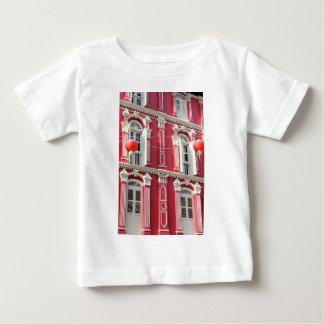 Chinatown kolonial arkitektur Singapore Tee Shirt