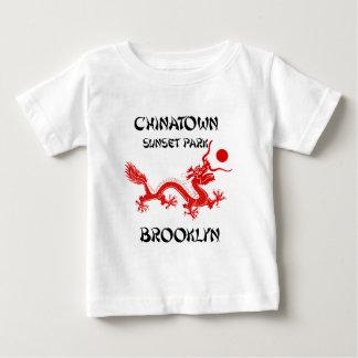 Chinatown solnedgång parkerar, Brooklyn T Shirts