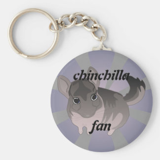 Chinchilla Rund Nyckelring