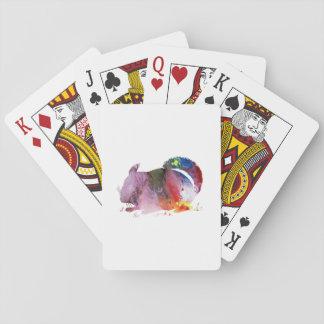 Chinchilla Spel Kort